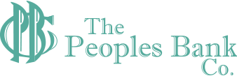 The Peoples Bank Co Logo